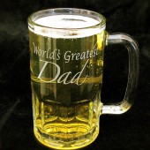 World's Greatest Dad Beer Stein, Father of the Bride Gift