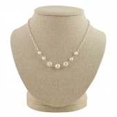 'Wren' Delicate Pearl Necklace