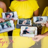 Personalized Photo Clutch Bag