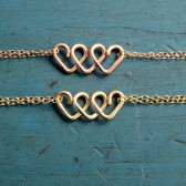 Gold or Rose Gold Infinite Love Bracelet