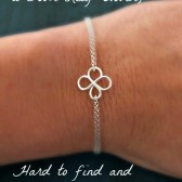 Four Leaf Clover Bracelet: Comes with Gift Packaging and Note