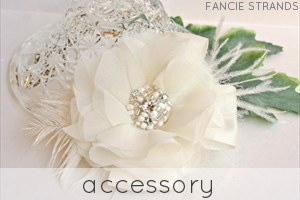 handmade wedding accessories