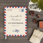 Guestbook - Airmail Guest book (gb0027)
