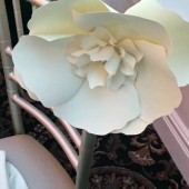Large Paper flower - aisle décor