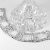 Art Deco Crystal Bracelet