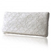Astrid lace clutch