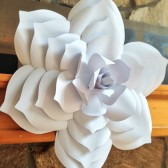 Paper Flower Backdrop, giant paper flowers, paper flowers, wedding centerpiece, wedding flowers, wedding backdrop, backdrop, big paper flowers