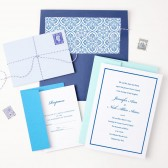 The Simple Border wedding invitation is a clean and beautiful way to get your guests excited to attend your special day!