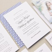 Timeless charm and graceful typography make the Elegant Vintage a beautiful invite that will be sure to impress your loved ones. Make it your own by customizing the colors & fonts to fit accordingly.