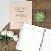 Type Frame Guest Book