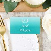 Rustic Ombre Place Card