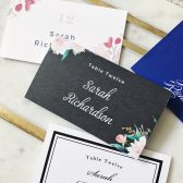 Blossoming Love Place Card