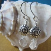 Beach Wedding Earrings