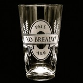 Custom Beer Logo Pint Glass