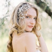 Style 503 - Crystal Bridal Headpiece by SIBO Designs