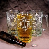 GIANT Beer Mugs, Personalized 1 liter mugs