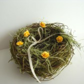 Birds Nest Ring Bearer Pillow