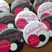 Bachelorette Party Pins