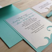 Wave Wedding Invitation