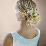boho bridal hair chain