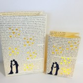 Book Lovers Luminaries, Book Decor, Book Theme Wedding