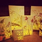 Wedding Luminaries, Botanical Decor, Wedding Flowers
