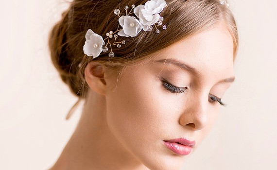 bridal hair vine -