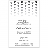 Geometric Bridal Shower Invite