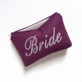 bride cosmetic clutch bag
