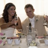 Bride & Groom Toasting Flutes for Wedding