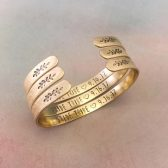 bride tribe, gold, rose gold, silver, sterling silver, personalized, custom, customized, date, cuff