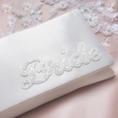 BRIDE wedding day clutch