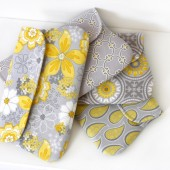 Yellow and Gray Clutches