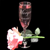 Personalized Bridesmaid Gift, Personalized Champagne Flutes