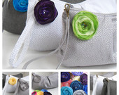 design your own bridesmaids clutch