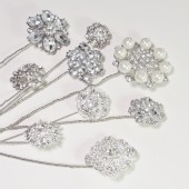 Rhinestone Brooch Picks