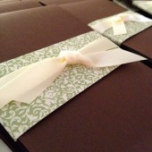 Long Pocket Invitation