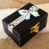 Butterfly Wedding Ring Box, Ring Bearer Box