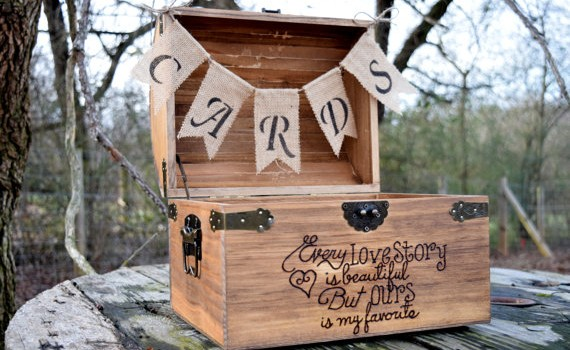 Every Love Story Chest with Cards Banner