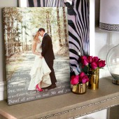 wedding photo bedroom art
