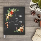 Wedding Guestbook - Botanical Garden 1 Guest Book (gb0001)