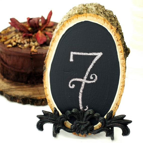 chalkboard table numbers 3