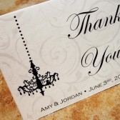 Chandelovely Thank You Note