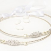 Cherish Greek Wedding Crowns