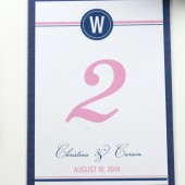 Christina – Preppy & Pretty Table Number