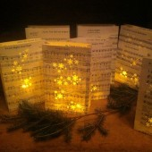 Christmas Sheet Music Luminaries