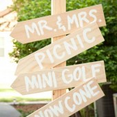 Rustic Directional Signs