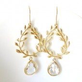 Athena Earrings in Gold