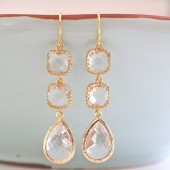 Clear Sparkle Earrings