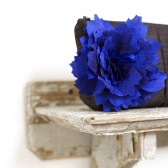 cobalt blue wedding clutch, bridesmaids gift idea